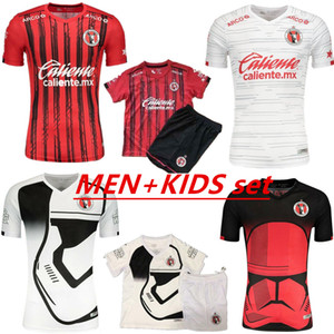 Männer Kinder 2020 2021 Xolos de Tijuana Fußball Jersey Jungen Kits 19 20 21 Starry Sky Limited Edition Rivero Lucero Bolanos Football Shirt