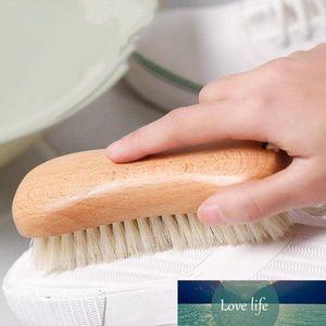 Beech wood pig clothes cleaning brush household pig hair soft hair brush shoe brush