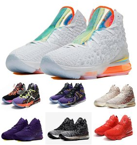 2020 Selling kids shoes LeBrons 17 Future Air kids hot sale new 17 GS Boys running Basketball shoe size 28-35