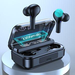 TWS F9-278 Wireless Headphones 9D Stereo Wirelesss Bluetooth Earphone Sports Waterproof Headsets Noise Cancel Earbuds With Microphone