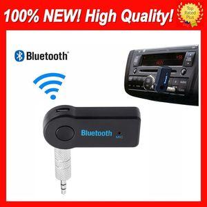Evrensel Gerçek Stereo Yeni AUTO 3,5 mm Akış Araç A2DP Kablosuz Bluetooth V3.0 EDR AUX Ses Müzik Alıcısı Adaptörü İçin Telefon MP3 Araba 3.0