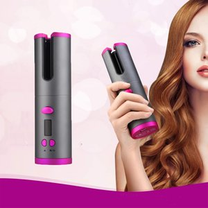 Wireless Hair Curling Iron Auto Ceramic USB Cordless Automatic Hair Curler Waver Tongs Beach Waves Air Curler Styling Tools