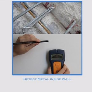 Stud Wood Wall Center Finder Scanner Metal AC Live Wire Rebar Detector