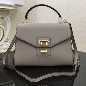 Genuine Leather Handbag Crossbody Bag Female Shoulder Bags Hot Sale High Quality Fashion Palm Print Cowhide High Quality Tote Bag