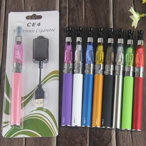 eGo CE4 Blister Kits eGo-T Battery 650mah 900mah 1100mah Electronic Cigarette E Cigarette E Cig Kits CE4 Clearomizer Various Colors
