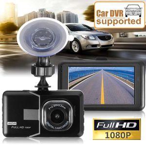 3Inch 1080P Car DVR Dashboard Camera Full HD Vehicle Video Recorder Dash Cam G-Sensor GPS Car Dashboard DVR Free SHL