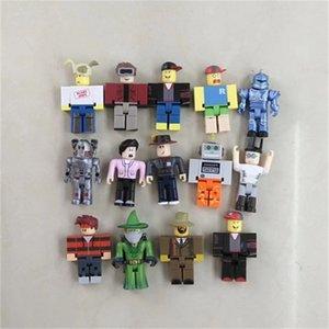Original DIY Block 7CM Roblox Minifig Building Bricks Toys Wholesale Opp Bag Packaging In Stock