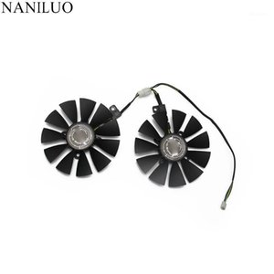 New 88mm FDC10U12S9-C Fan For ASUS GTX1060 1070 Ti RX 470 570 580 Graphics Card PC Cooling DC 12V GPU Cooing video card coolerrs1