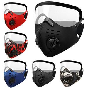 مكافحة الضباب الغبار يندبروف دافئ دراجة قناع الدراجة الجبلية صمام الهواء ركوب نظارات قناع متكامل