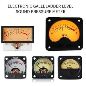 جودة عالية الدقة قوة الصوت لوحة VU متر رئيس السلطة DB متر مستوى التفريغ