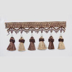 6 m Sac Tassel Rideau Fringe Décoratif Rideau Curnings Fringe Rideau Accessoires Dentelle Garniture de dentelle 6 m Sac H Jlleks