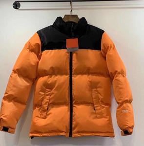 Mens Down Jacket Parkas Padrão Prined High Street veste Coats com Zipper Cartas Moda Estilo Unisex Parkas Jackets