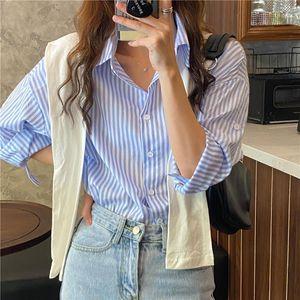 المرأة البلوزات قمصان S-XL المعتاد النساء الربيع قمم فام عارضة قميص طويل الأكمام القطن الفتيات بلوزة زائد الحجم blusas autumn1