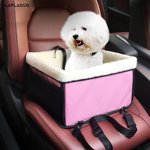 LAPLADOG Winter Warm Pet Dog Carrier Car Seat Cover Safe Carry House Folding Washable 2 in 1 Carrier Bucket Basket