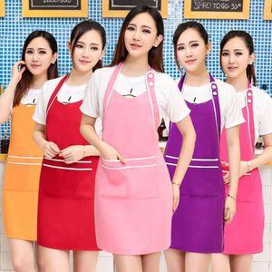 Apron Korean fashion beauty salon beautician nails Maternal clothing uniform apron custom logo printing women