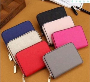 2021 Hot Sale Fashion Women Wallets PU Leather Wallet Single Zipper Cross Pattern Clutch Girl Purse luxurys designers bags