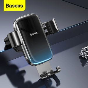 Baseus Gravity Auto Air Vent Holder Car Accessories Mobile Phone Mount Stand For iPhone Huawei Samsung Xiaomi