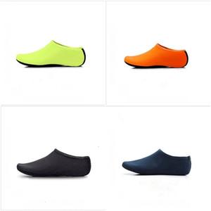 نمط جديد أحذية الغوص الجوارب النايلون سباحة سوك شاطئ الخفيفة غير زلة متعدد الألوان المضادة قطع للماء الساخن بيع 4 8CH D2