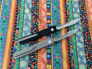 BM 3310 Cuchillo de bolsillo de combate Cuchillos CNC SLM cuchillo de doble acción automática UT85 3400 Bounty Hunter mafia italiana plegable que acampa táctico EDC
