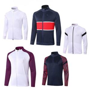2020 2021 adult Jacket kit Soccer tracksuit set Paris tracksuits 18 19 20 21 MBAPPE LUCAS HOME Football jacket kit Training training suit