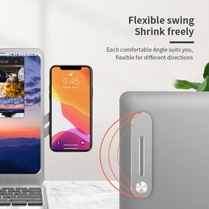 Universal Mobile Phone Metallständer PC 2 in 1 Handy-Halter-Notebook-Legierung Handy-Erweiterung Standplatz-Tablette FWB2337