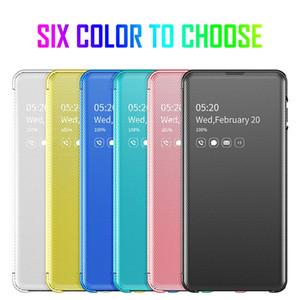 Smart Spiegel-Fenster-Ansicht Flip-Hülle für Samsung Galaxy S20 S10 S9 S8 Plus A70 A50