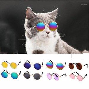 291 encantador mascotas gafas gafas accesorios gafas Eye-Wear Gafas de sol para Perro Fotos Cat Little Products 1pc Perro PET CSQSV