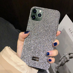 Blingbling Glitter Diamant Shining Luxury Stoßfest Zurück Fallabdeckung Für iPhone X XS XS MAX XR 12 11 Pro max 7 8 Plus Funda Girl