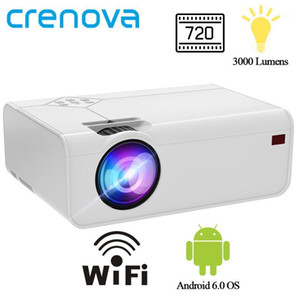 CRENOVA Mini LED Projector A13 (Android Optional A13C) 1280*720P With Wifi Bluetooth 3D Video Projector Support 4K Home Cinema1