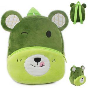Bear Plush Bag Backpack cartoon animal bag school bag dress children toy birthday gift