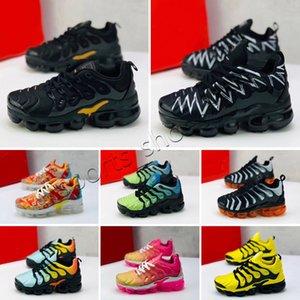 Vapormax plus TN Bambini Baby Plus Tn Boy Girl Shoe Scarpa per bambini di alta qualità classica genitore-bambino atletico Atletico Authory Mix Sneaker Black Casual Scarpe taglia
