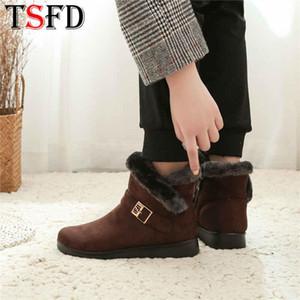 Slip-on inverno Stivali Donne Inverno 2020 la vendita dei pattini da neve Zapatos donne calde di High Top più calda femmina Climbing Footwear W8