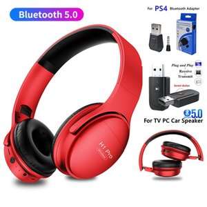 Foldable TV Bluetooth Wireless Headphone With Microphone Stereo Gaming Headset Gamer Girls Music Helmets For PC Tablet Phone PS4
