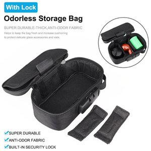 Smell Proof Bag With Lock Odorless Stash Storage Case Smoking Accessories Set Container Anti-odor Bag For Home Travel