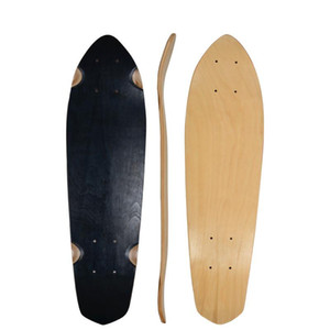 1pcs Big fish board 28-inch single tilting shallow concave surface maple four-wheel skateboard brush street road board