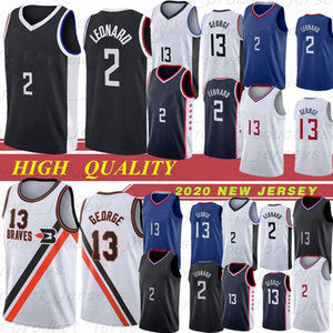 LA Clippers Jersey 2 카위 레너드 13 폴 조지 23 윌리엄스 5 Montrezl Harrell 25 Mfiondu Kabengele Angeles the city stitched shorts Men jerseys