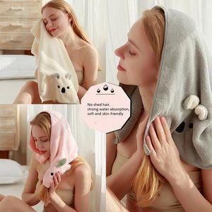 35 * 70 cm Coral Velvet Asciugamano Asciugamano Carino Assorbente Assorbente Asciugamano Quick-Asciugamano Spesso Accessori da bagno Accessori per il bagno