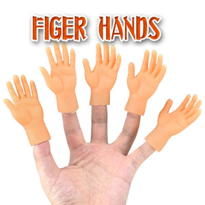 Cartoon Funny Finger Hands And Finger Feet Set Creative Finger Toys Of Toys Around The Small Hand Model Halloween Gift Toys GWE2323