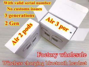 Factory wholesale TWS GPS Rename wireless Earphone Air AP3 AP2 AP4 Pro Gen 3 Pods EarBuds Bluetooth Headphones Top Quality Stereo Headsets