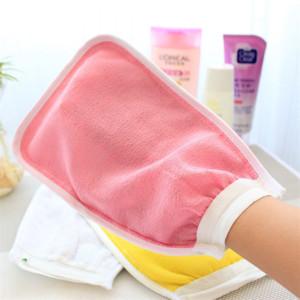 PQFF6 guanti a doppia faccia a sfera per la cura della stanza per la cura della vasca da parati vasca da bagno lungo asciugamano a doppio lato guanti a sfera per la cura della stanza della stanza da bagno della stanza da bagno della stanza da bagno vasca da bagno