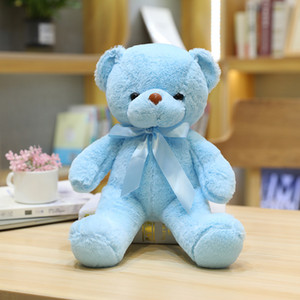 Catching Machine Plush Toys Girl's Favorite Gift 30CM Teddy Bear With Scarf Plush Toys Dolls For New Year Gift