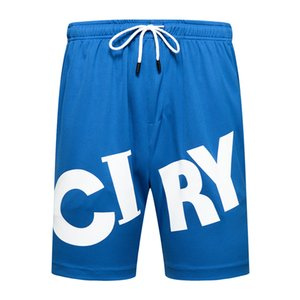 Casual shorts men's big elastic waist 2020 summer beach shorts men's breathing fast drying shorts men's training Bermuda
