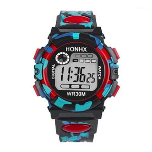 Armbanduhren Herrenuhr Sport LED Wasserdichte Uhr Luxus Männer Analoge Multifunktions Mens Electronic Relogio Digital1
