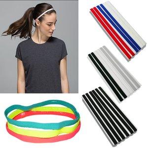 Deportes Elástico Headband Softbol Caucho Plastic Silicone Pein Band Vendage en la cabina de la cabeza para el cabello LJ200903