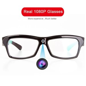 1080p reale HD Camera Glasses Foto Video Recorder Mini DV Camcorder indossabile Cam OCCHIALI