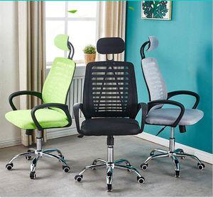 Di alta qualità sedia dell'ufficio della maglia, sedia del computer addensato con poggiatesta regolabile e il design ergonomico supporto della vita