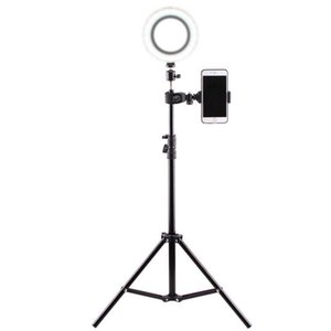 Selfie light tripod stand mobile phone selfie stick Youtube Video Live Beauty Bracket For Live Broadcast Tripods