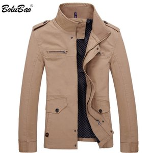 BOLUBAO Men Jacket Coat New Fashion Trench Coat New Autumn Brand Casual Silm Fit Overcoat Jacket Male 201112