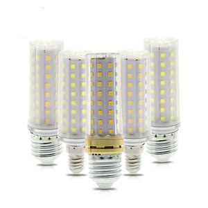 LED Bulb E27 9W AC86-265V 80LEDs Clear   Milky Cover High Brightness No Flicker Energy Saving LED Light LED Corn Bulb Lamp.