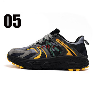 Treeperi chunky 10 best quality running shoes black grey yellow US 10 EUR 44 for men